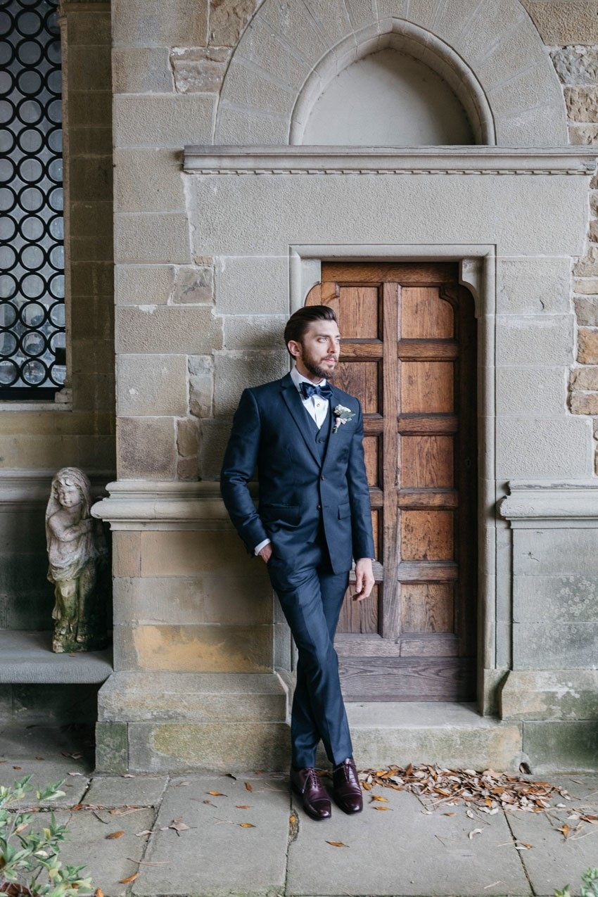 Timeless Vintage Groom