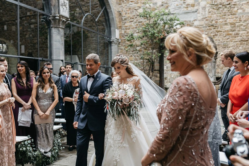 Italian Castle Wedding Ceremony