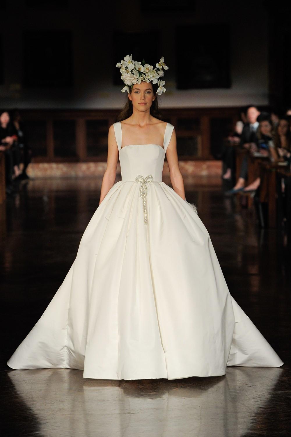 Bows Reem Acra 2019 Bridal