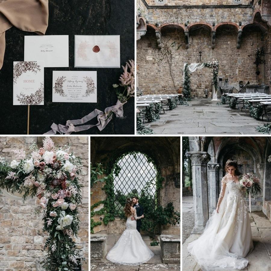 Fairytale Wedding at an Italian Castle