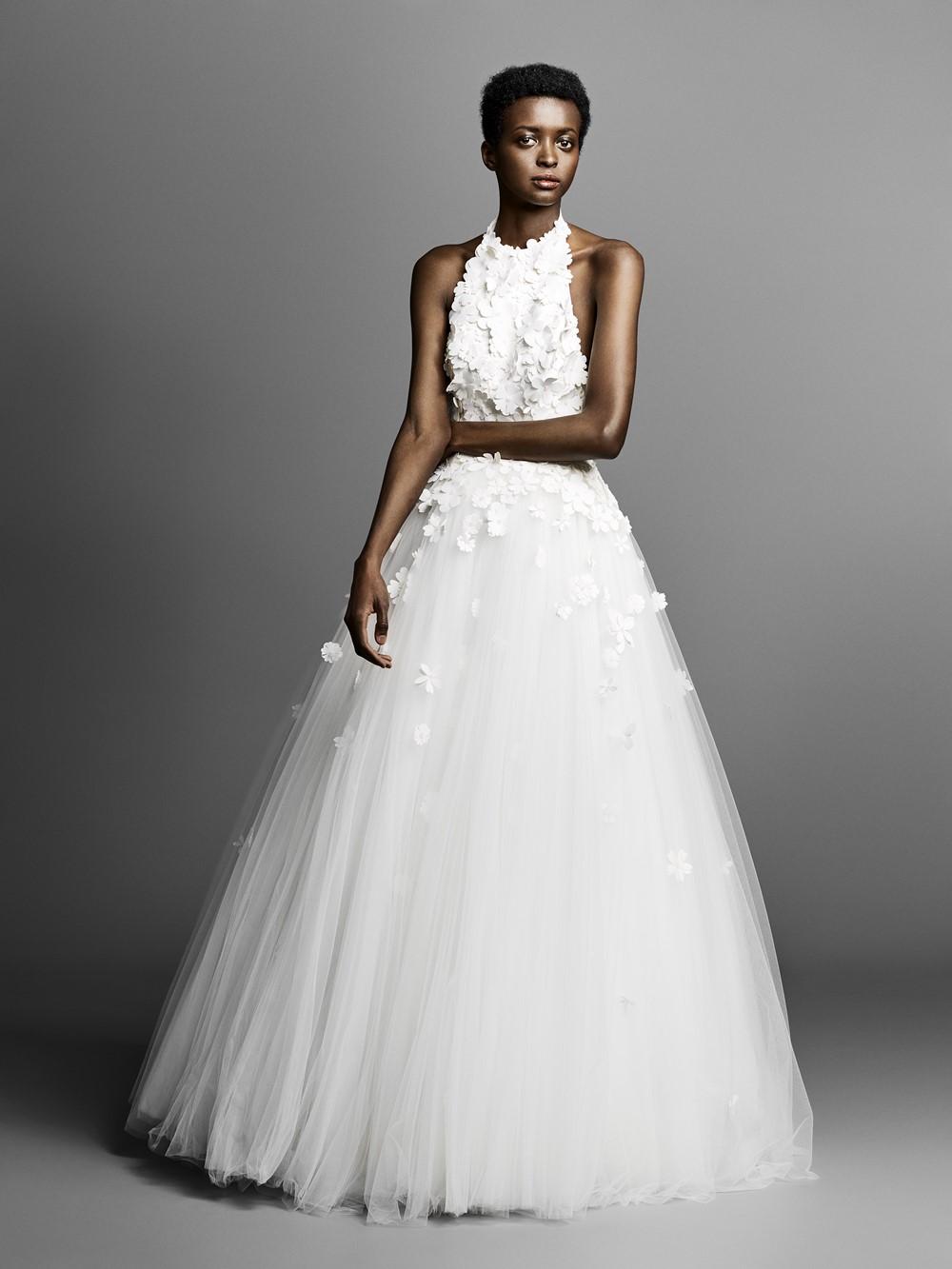 2019 Bridal Trends - Halternecks Viktor & Rolf
