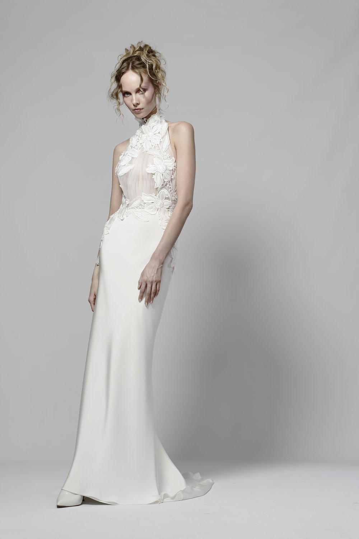 2019 Bridal Trends - Halterneck Elizabeth Fillmore