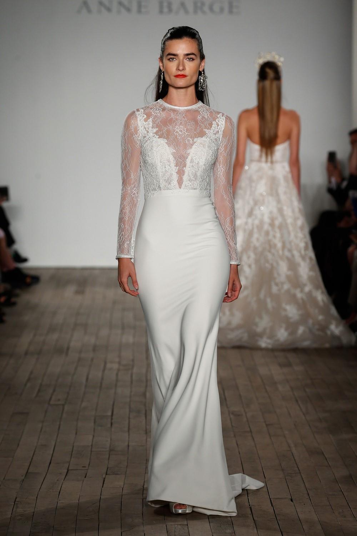 2019 Bridal Trends - Long Sleeves Anne Barge