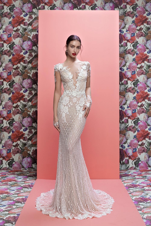 2019 Bridal Trends - 3D Florals Rhiannon Galia Lahav Spring 2019 Bridal