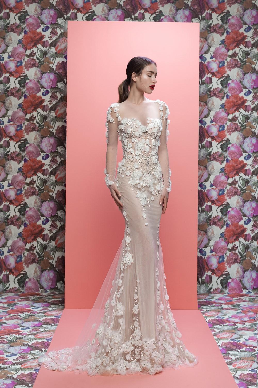 2019 Bridal Trends - Long Sleeves Thea Galia Lahav Spring 2019 Bridal