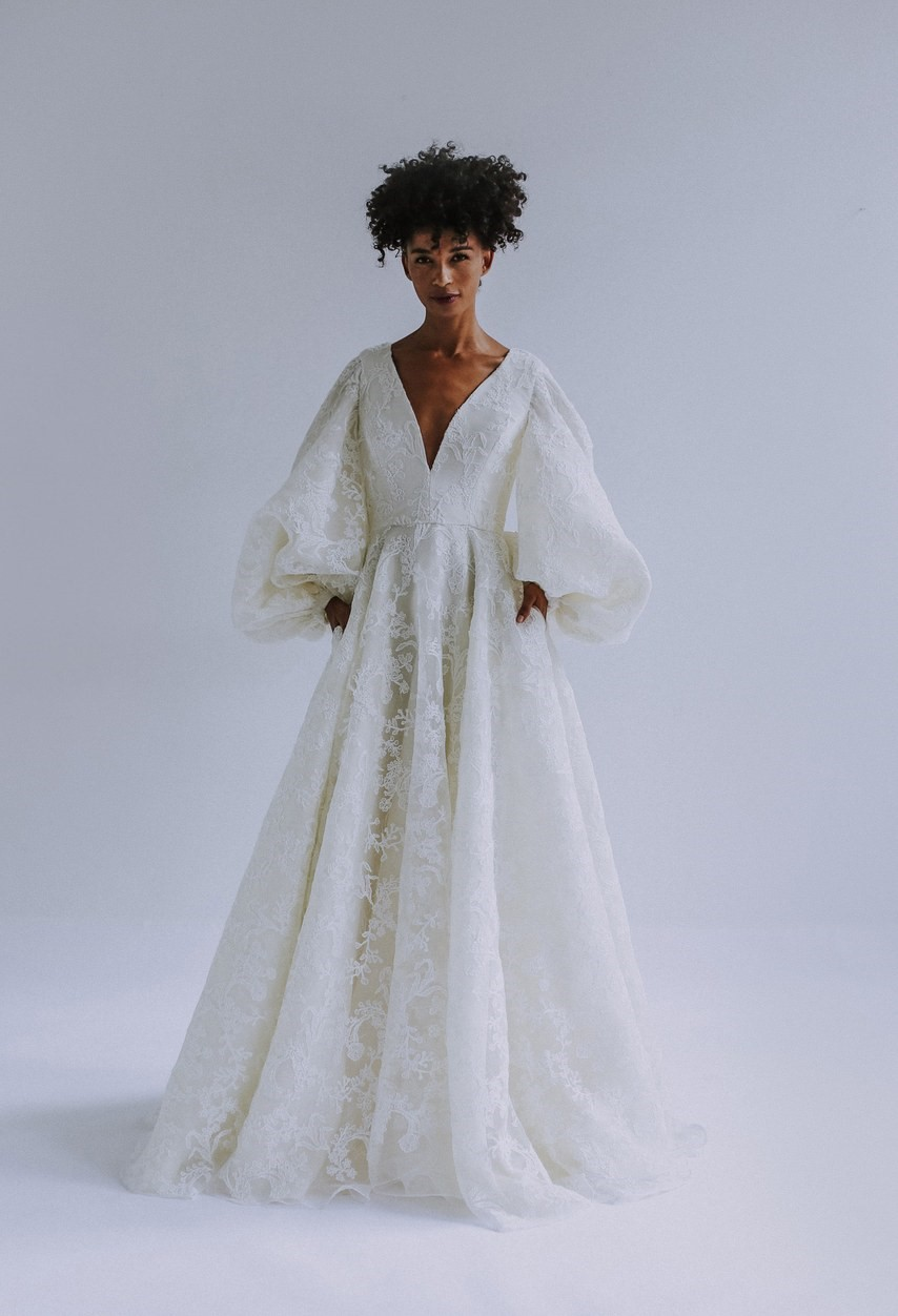 2019 Bridal Trends - Long Sleeves Leanne Marshall