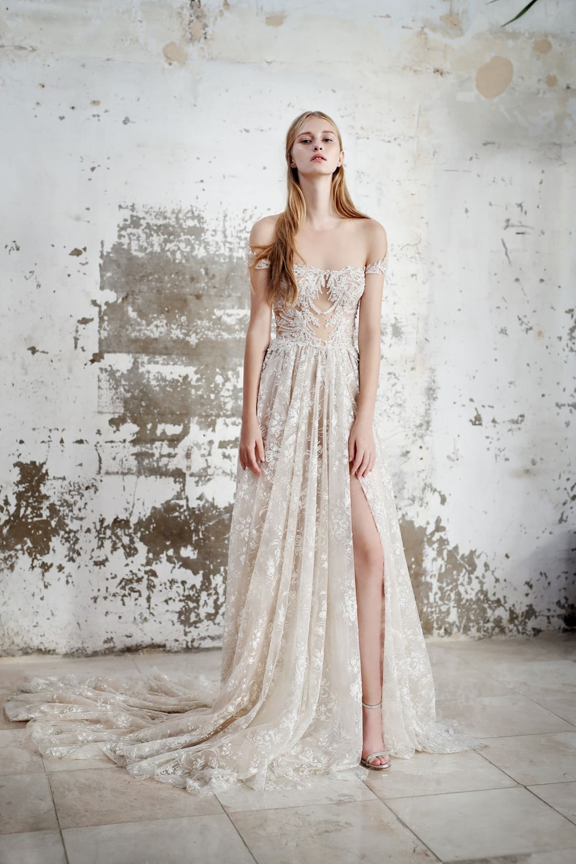 2019 Bridal Trends - Off Shoulder Sleeves Galia Lahav Fall 2019 Bridal