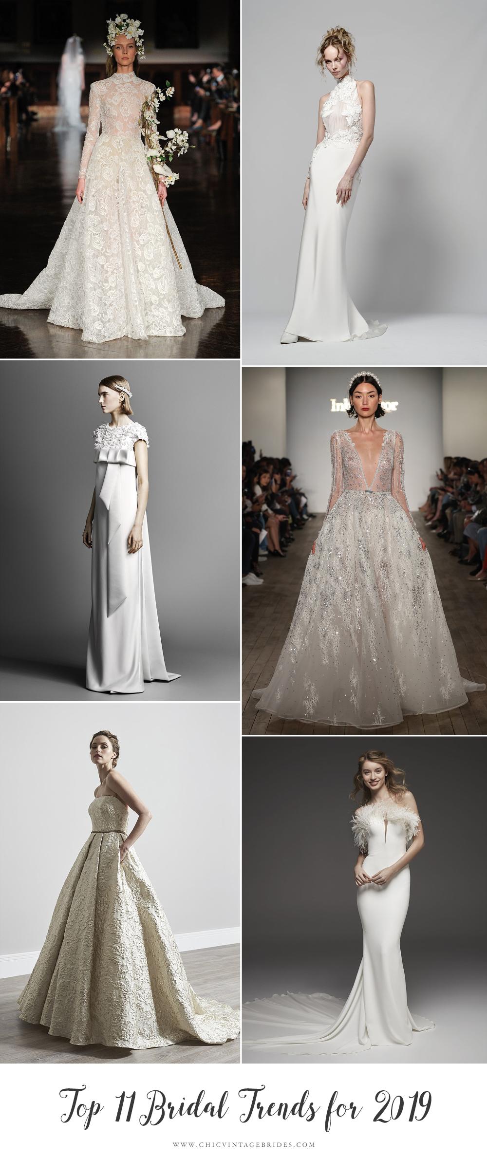 Top 2019 Bridal Trends