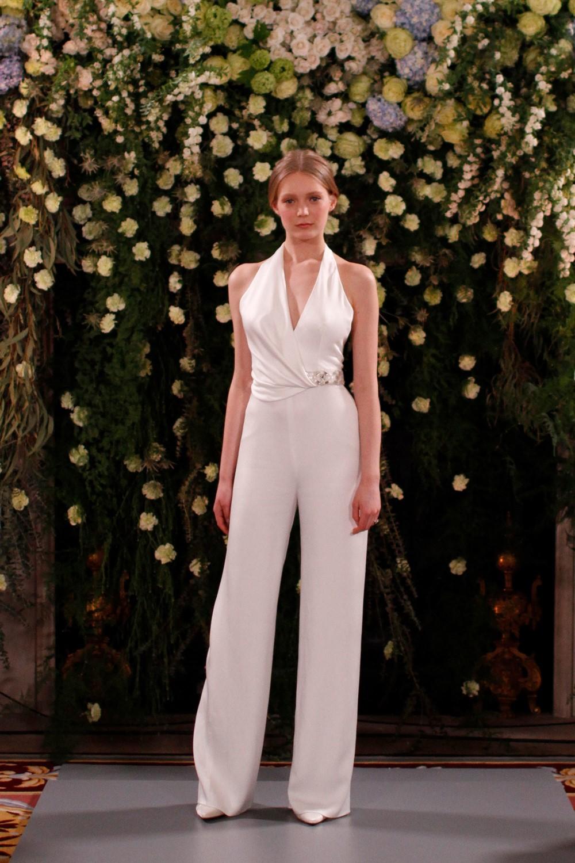 2019 Bridal Trends - Trousers Jenny Packham 2019 Bridal