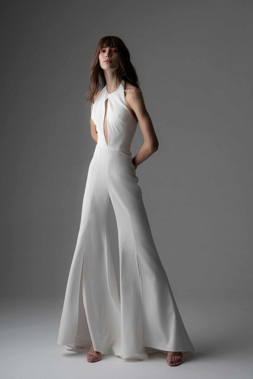 2019 Bridal Trends - Halternecks Rivini Fall 2019 Bridal
