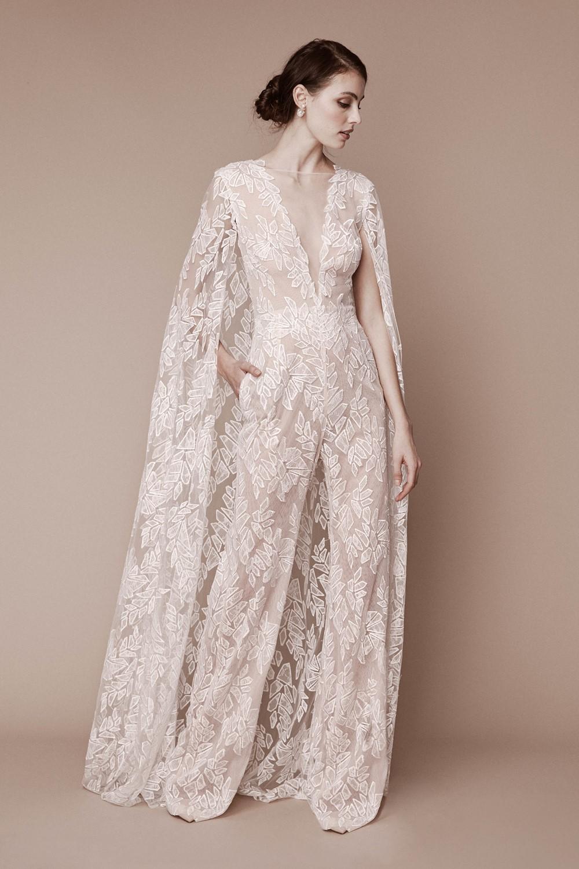 2019 Bridal Trends - Trousers Tadashi Shoji Fall 2019 Bridal