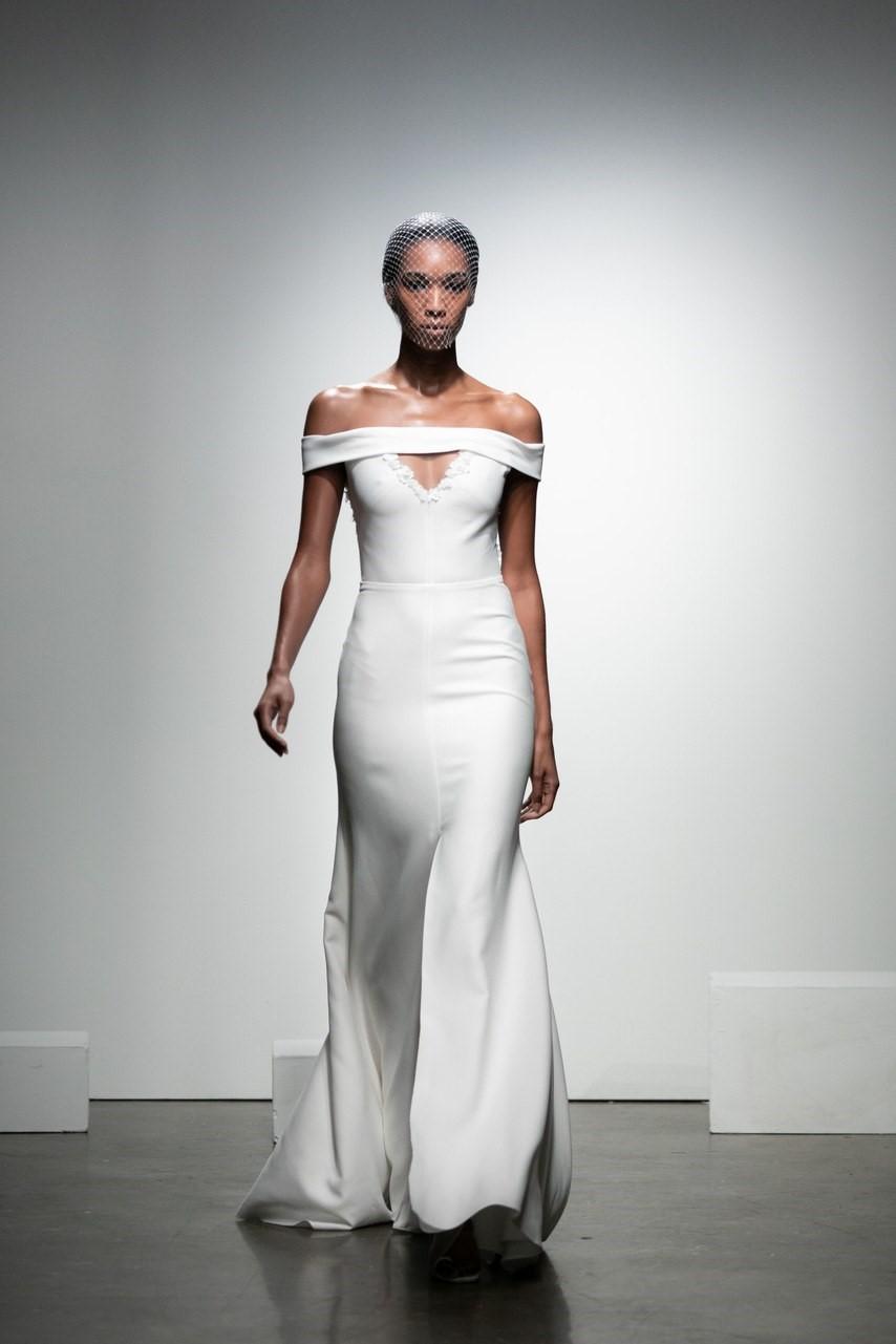 2019 Bridal Trends - Understated Rime Arodaky Fall 2019 Bridal