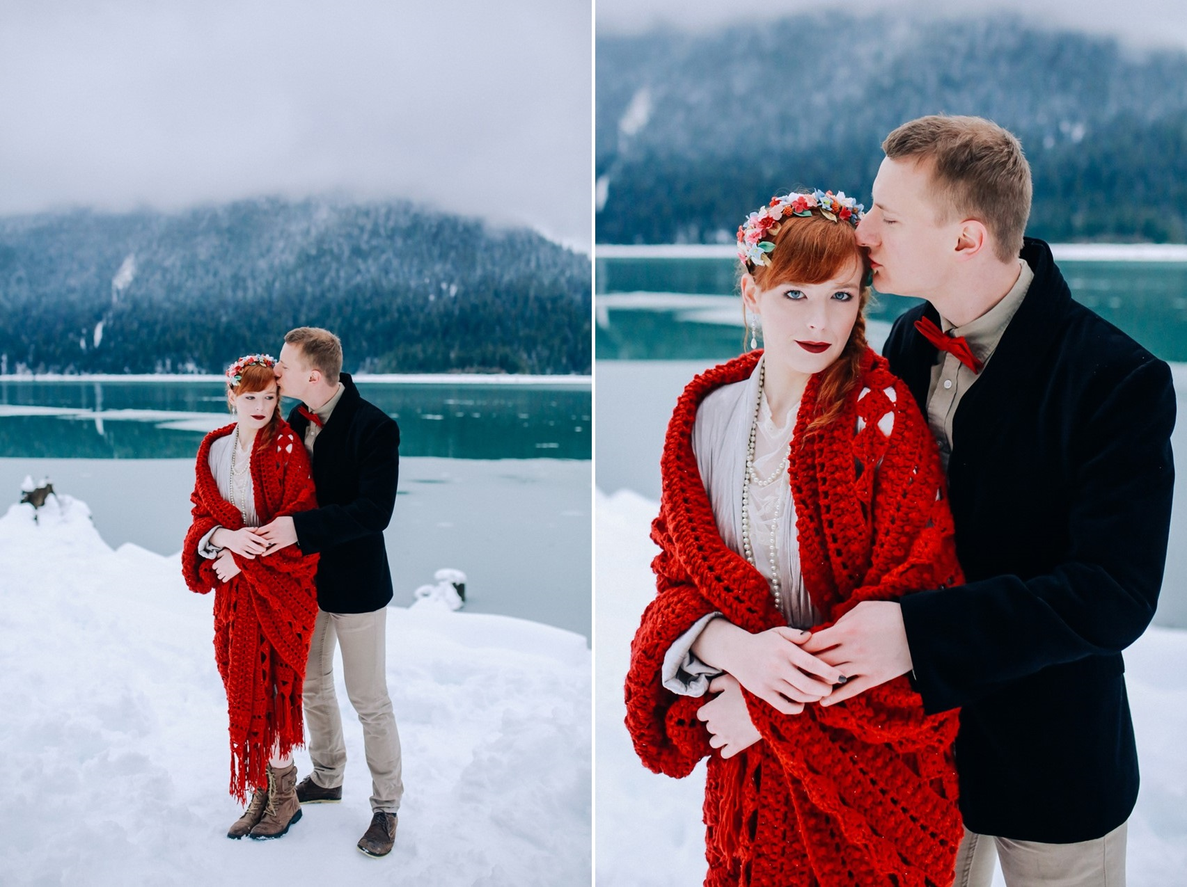 Snowy Winter Vow Renewal