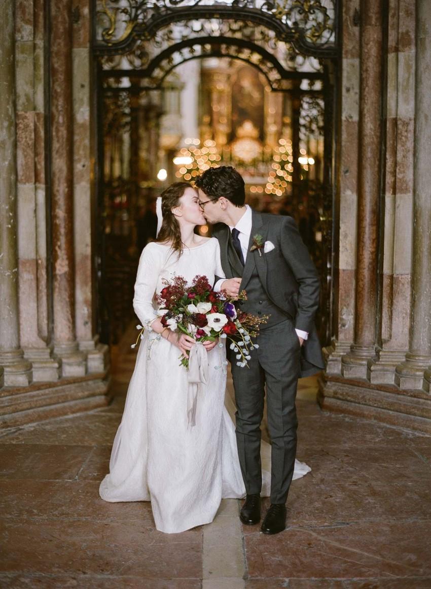 Church Wedding Bride & Groom