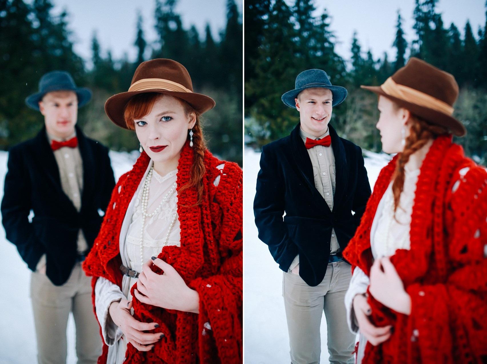 Rustic Vintage Bride & Groom