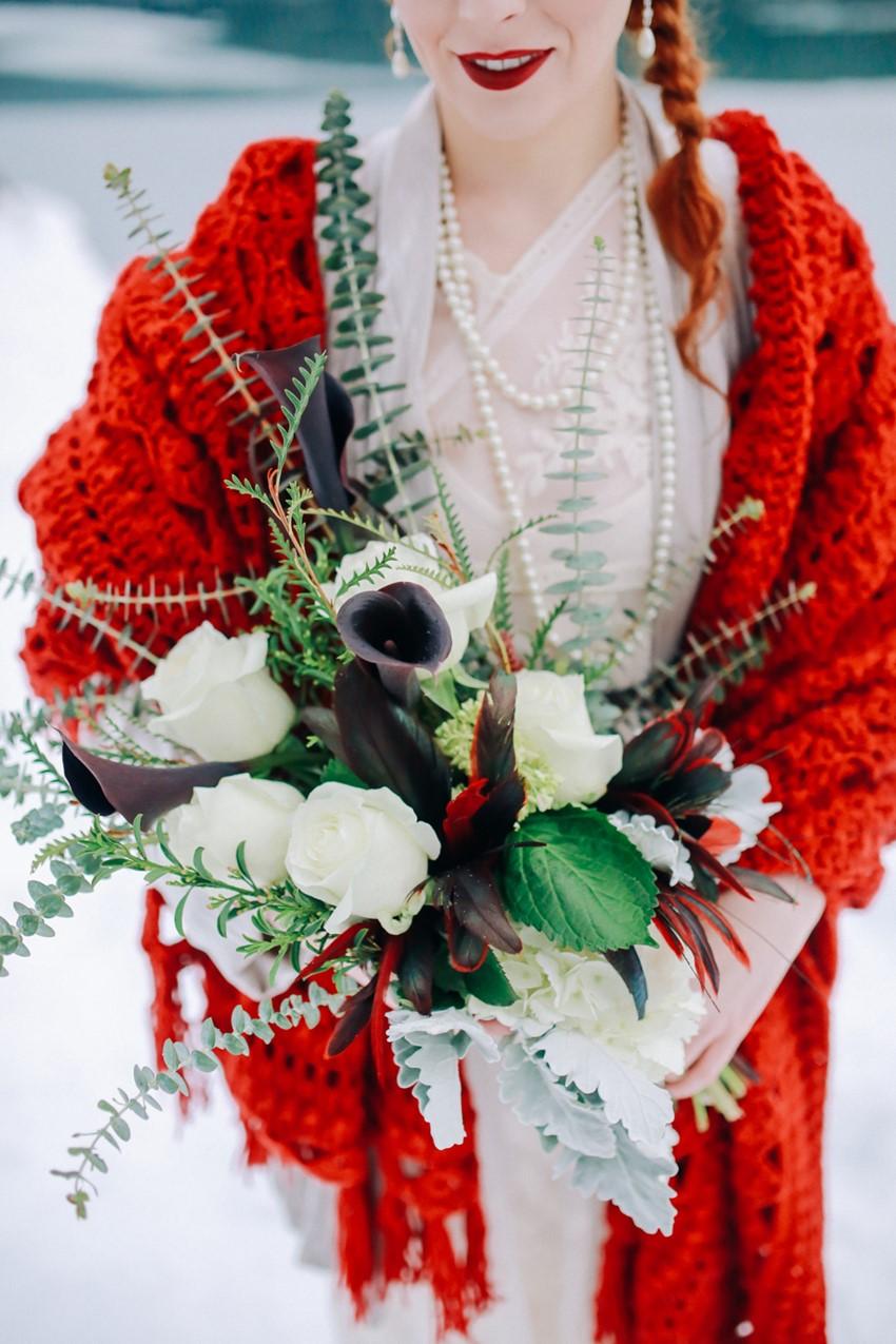 Vintage Lily Bridal Boquet
