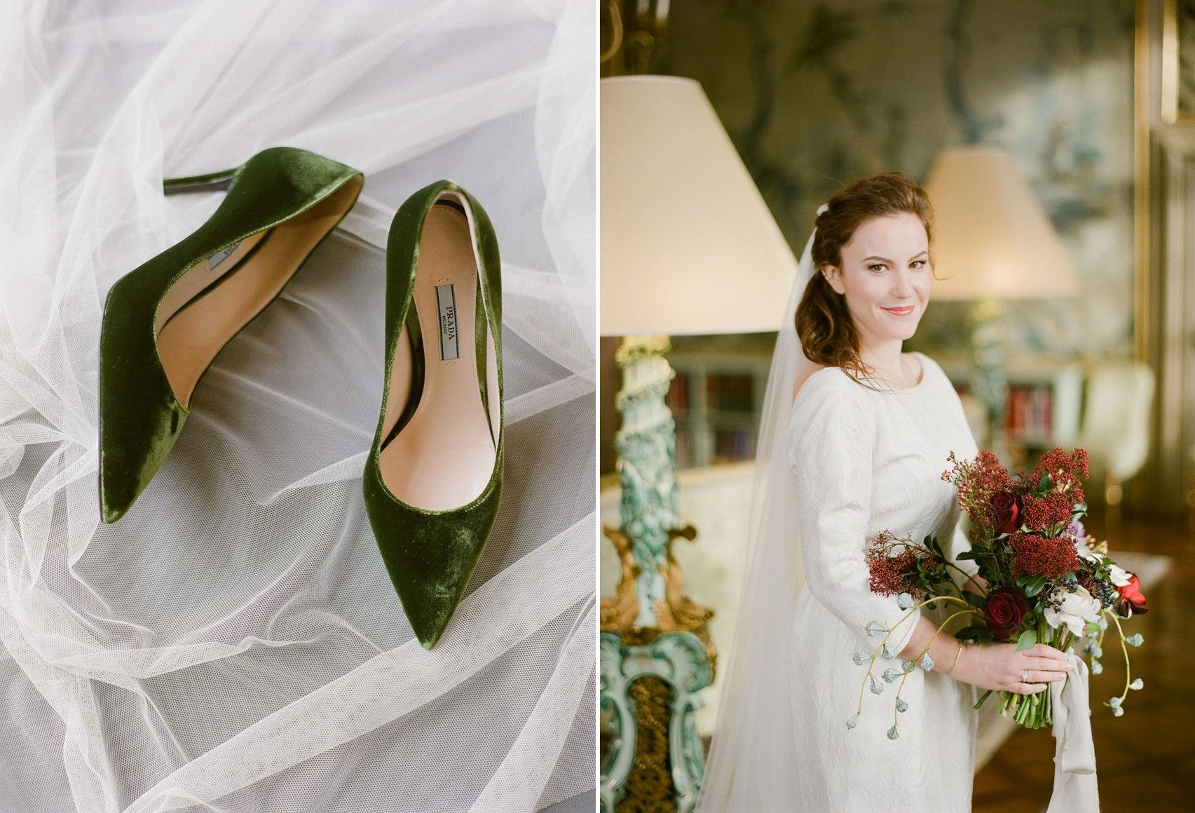 Elegant Winter Wedding Bride