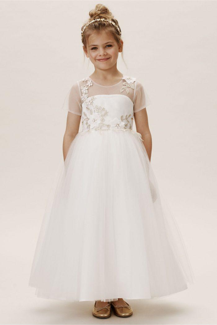 156869e0ea1 Jojo Flower Girl Dress - Chic Vintage Brides   Chic Vintage Brides
