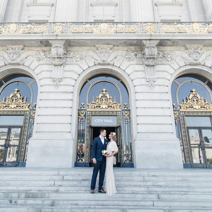 Vintage San Fancisco City Hall Wedding