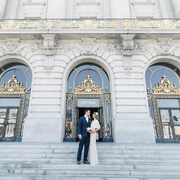 Vintage San Fancisco City Hall Wedding