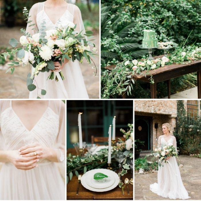 Mexican Villa Garden Wedding Inspiration