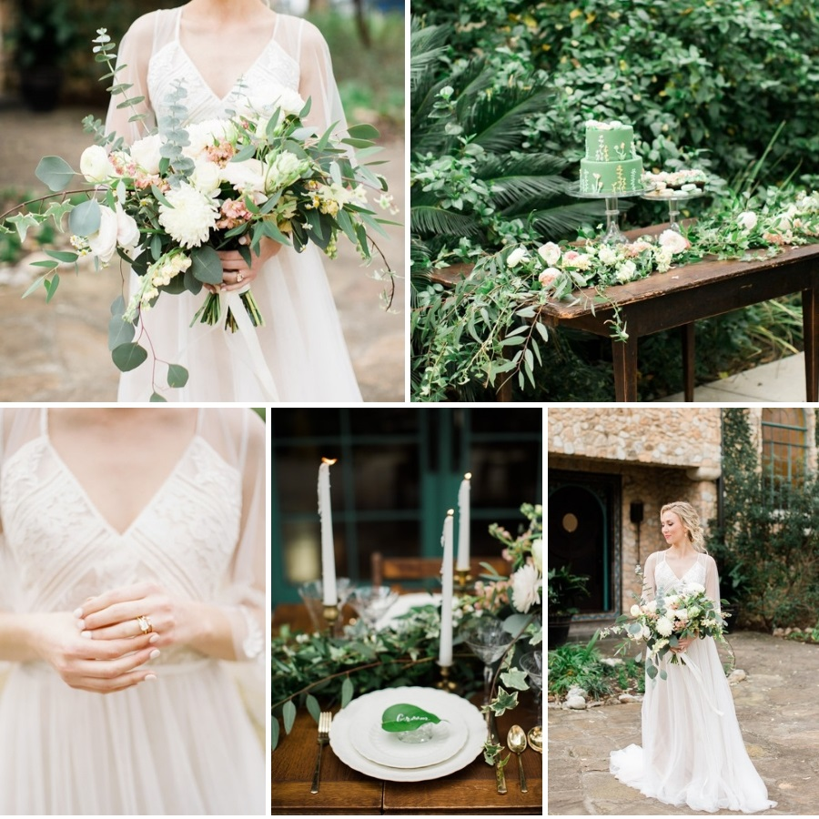 Mexican Villa Garden Wedding Inspiration