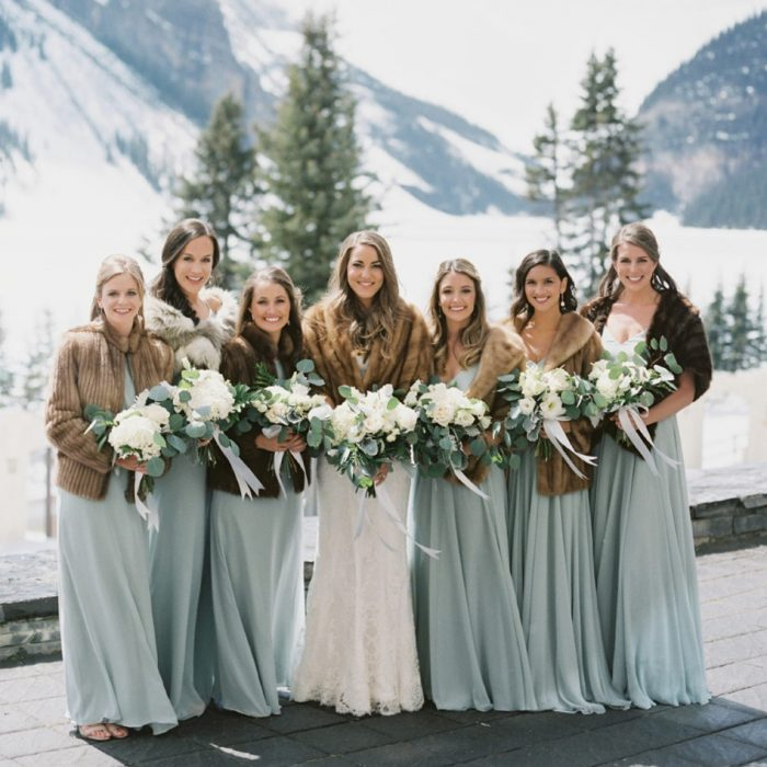 12 Wonderful Winter Wedding Color Palettes