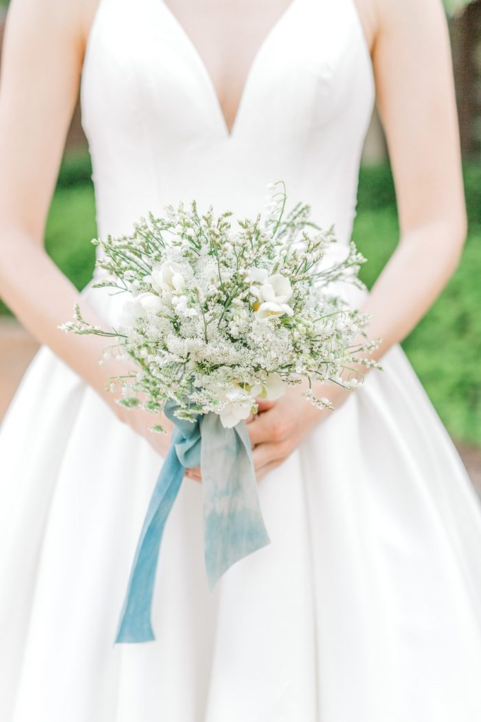 Spring Garden Wedding Bridal Bouquet