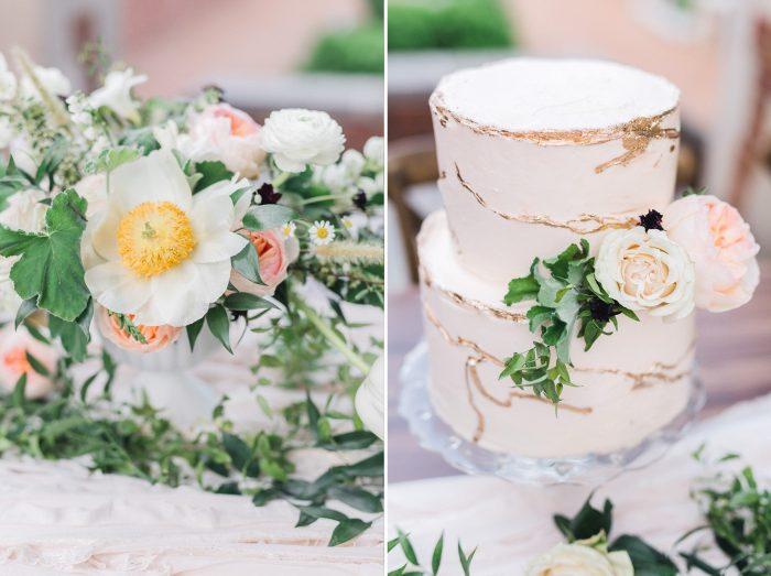Spring Garden Wedding Flowers
