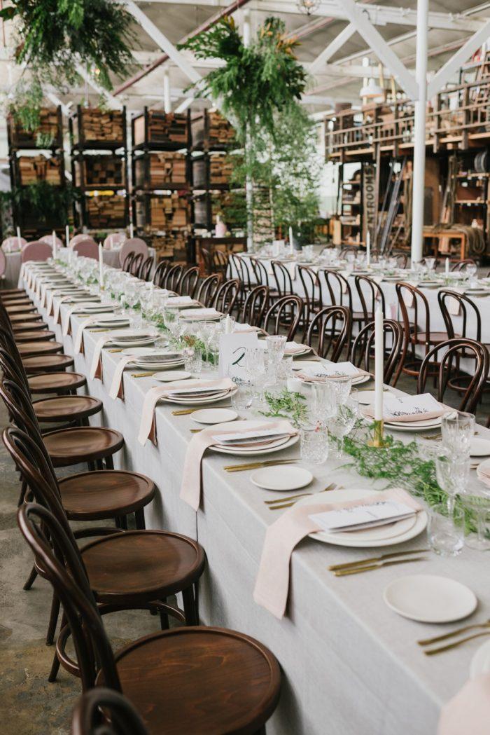 Pretty Indie Wedding Table