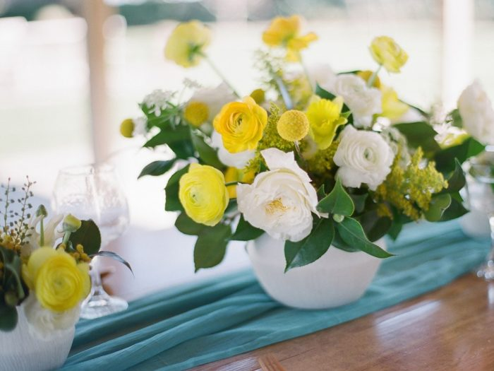 Spring Garden Wedding Centerpiece