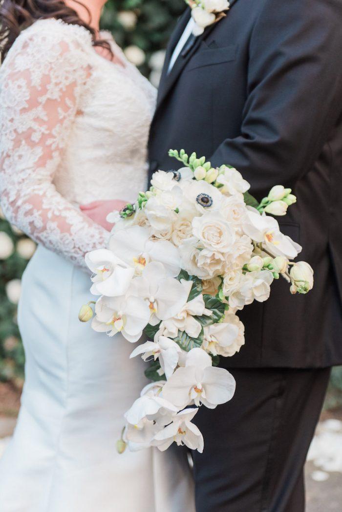 Orchid & Rose Bridal Bouquet