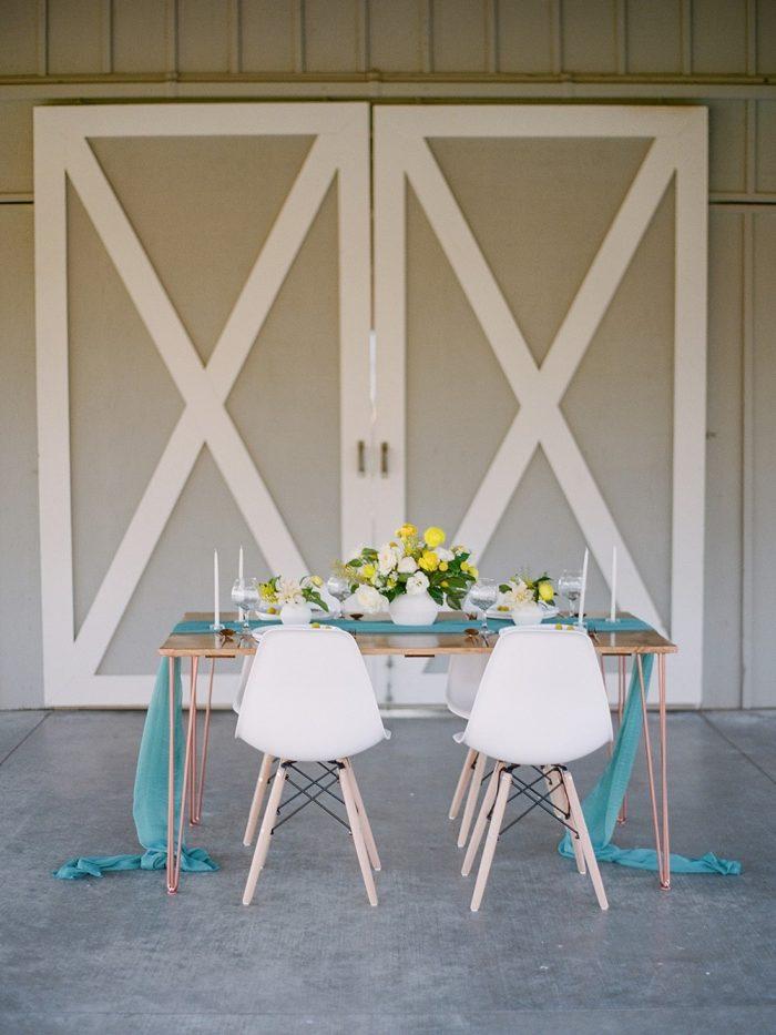 Spring Garden Wedding Table