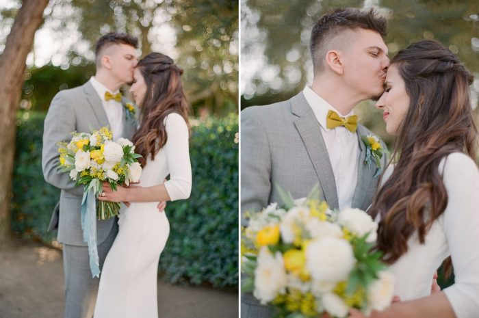 Minimalist Spring Wedding Inspiration