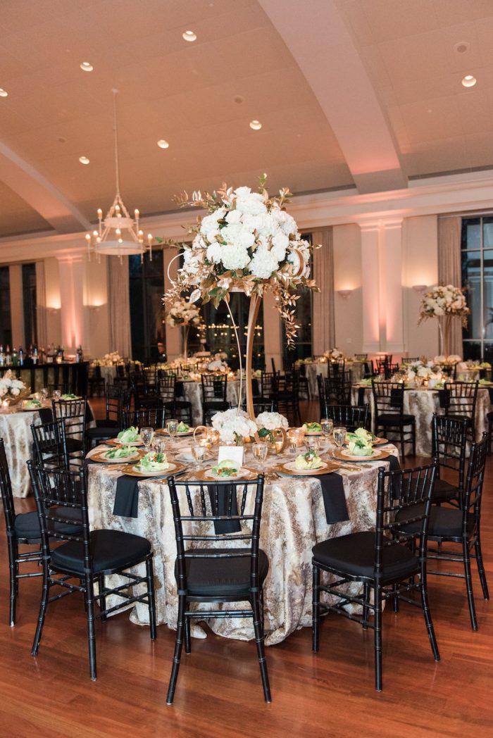 Art Deco Wedding Centerpiece