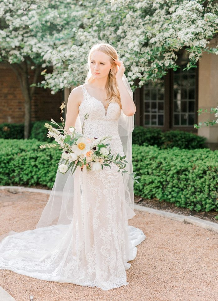 Blush Spring Garden Wedding Inspiration