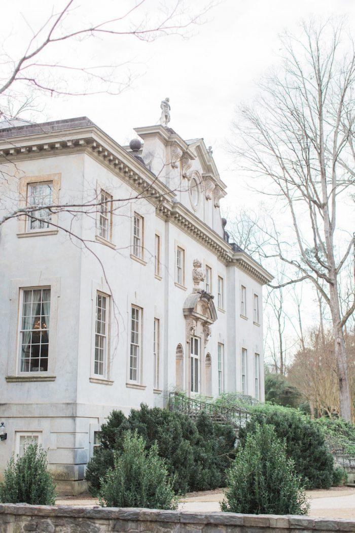 Swan House Great Gatsby Wedding Venue