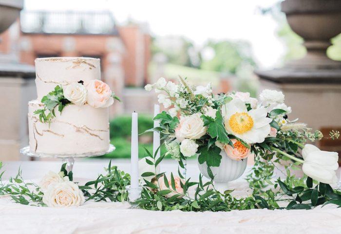 Blush Spring Garden Wedding Inspiration