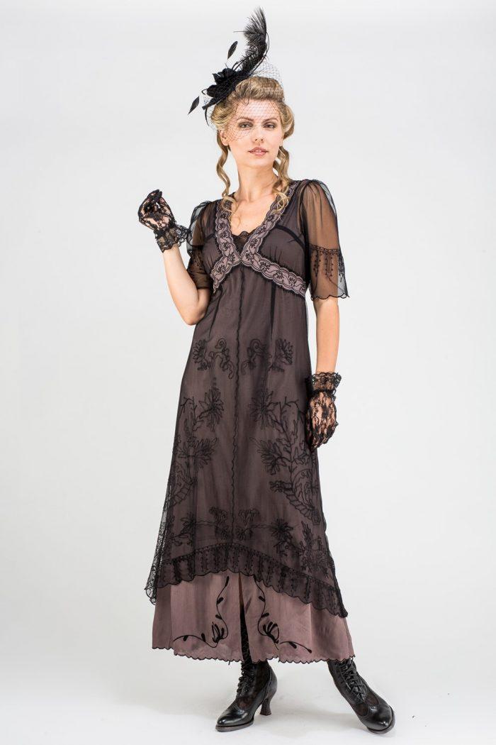 Black Vintage Inspired Dress