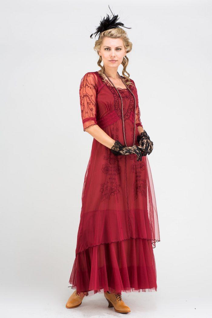 Red Vintage Inspired Dress