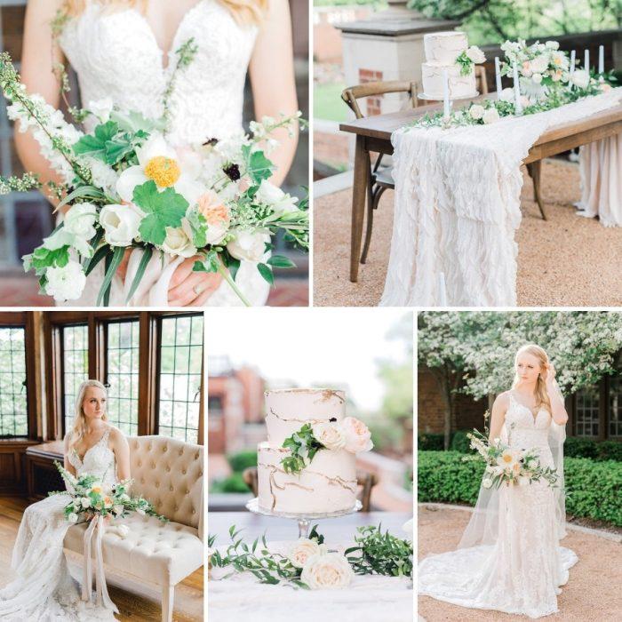 Timeless Blush Garden Wedding Inspiration