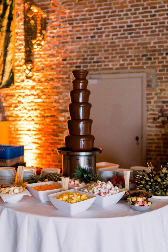 Wedding Cake Alternative Chocolate Fountain