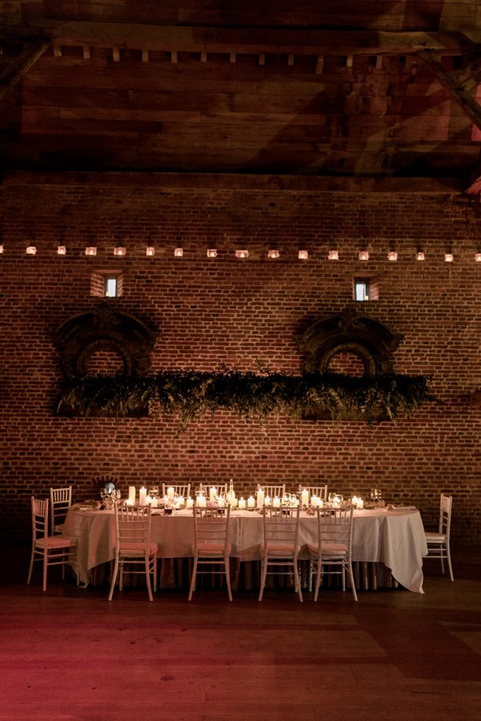 Understated Wedding Reception