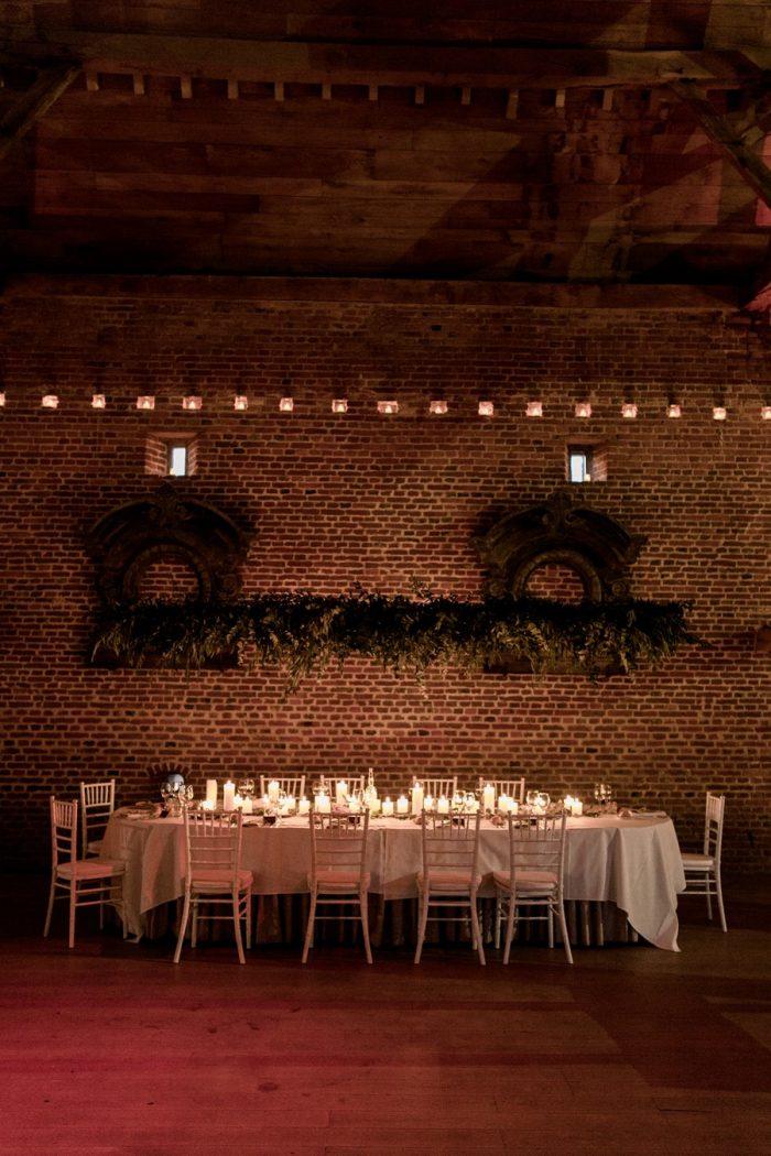 Understated Wedding Reception