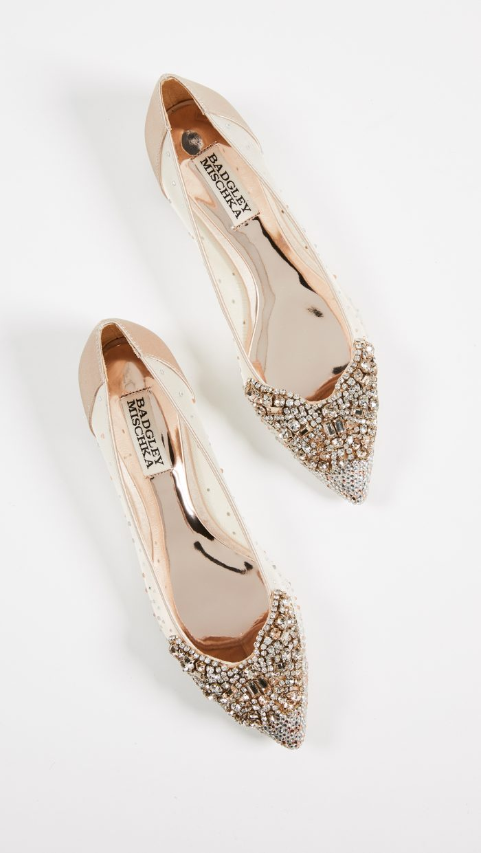 Badgley Mischka Wedding Shoes.18 Of The Most Beautiful Bridal Shoes Ever Chic Vintage Brides