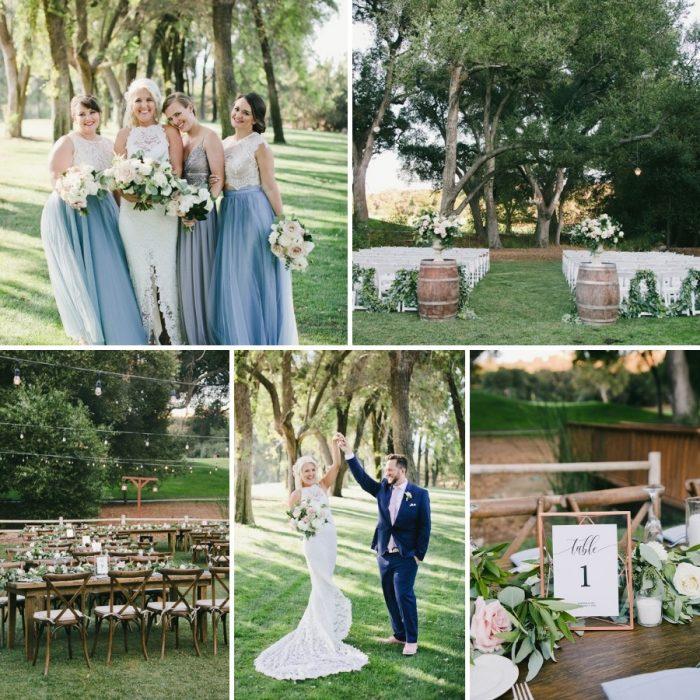Romantic Temecula Creek Inn Wedding