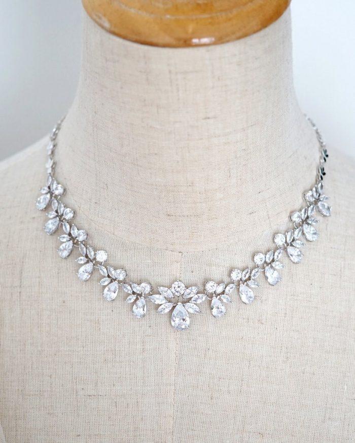 Vintage Inspired Statement Bridal Necklace