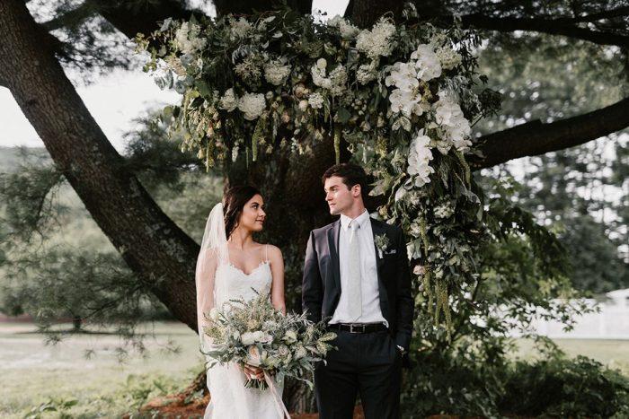 Timeless Wedding Ceremony Under a Tree