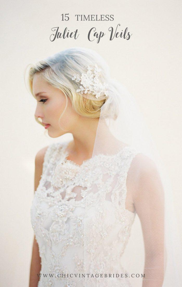 15 Romantic Juliet Cap Veils