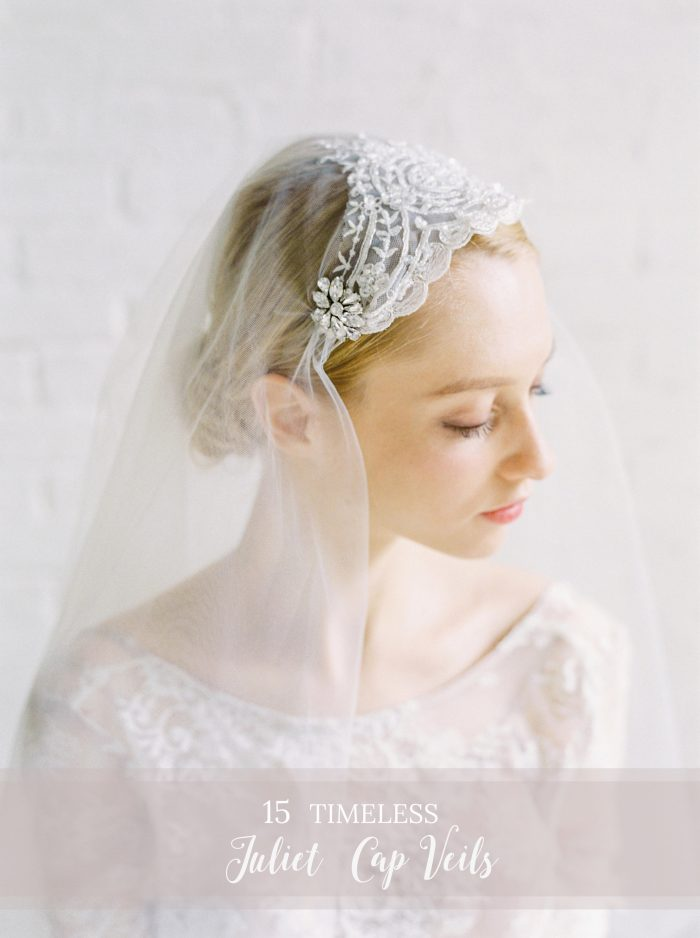 15 Timeless Juliet Cap Veils
